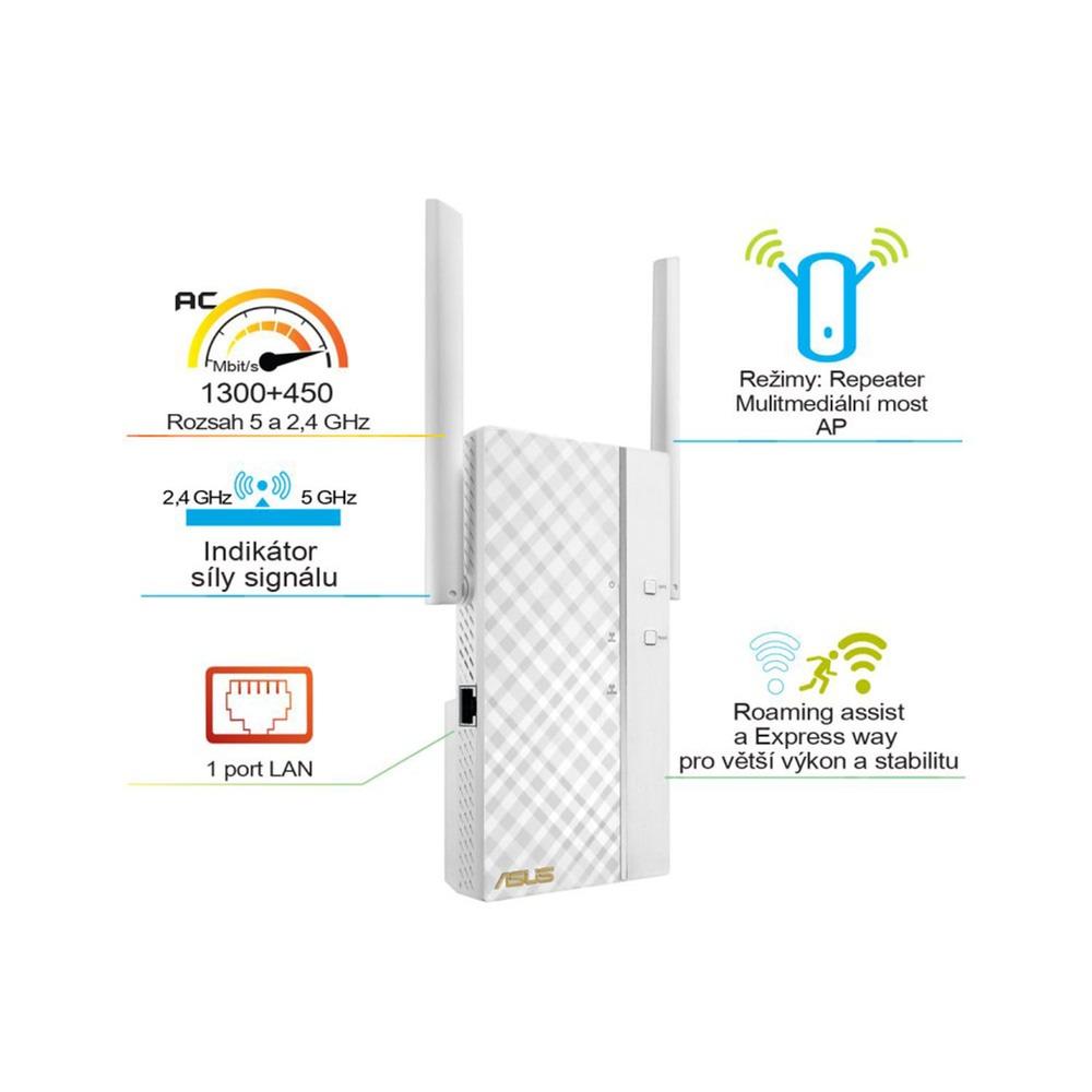 Wi-Fi усилитель ASUS RP-AC66 AC1750 в интерьере - фото 1