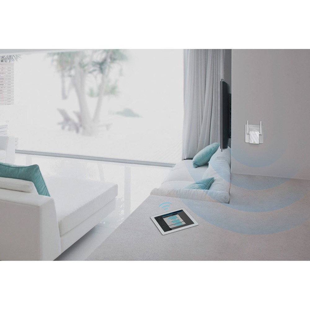 Wi-Fi усилитель TP-LINK TL-WA855RE в интерьере - фото 1
