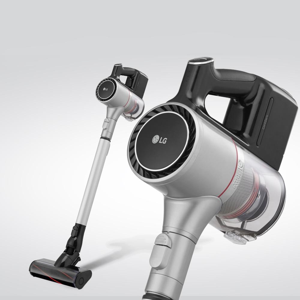 Вертикальный пылесос LG CordZero A9MULTI2X в интерьере - фото 10