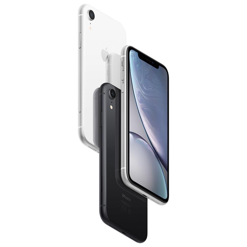 Смартфон Apple iPhone XR 128GB коралловый в интерьере - фото 4