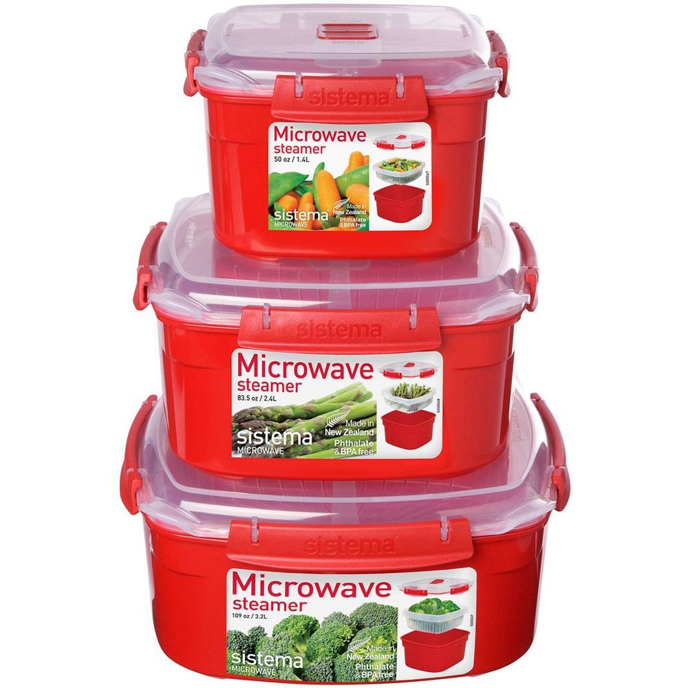 Посуда для СВЧ Sistema Microwave 1102 в интерьере - фото 3