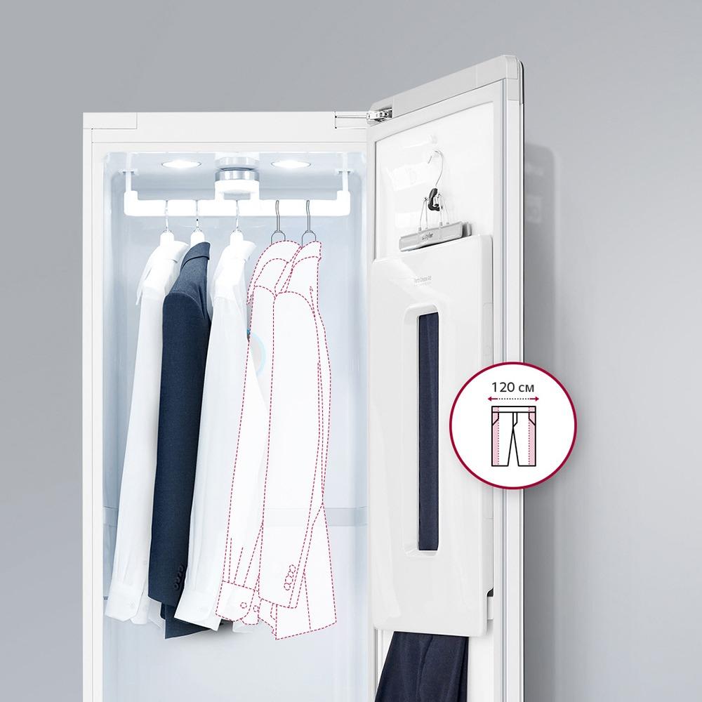 Система ухода за одеждой LG S5BB Styler в интерьере - фото 3