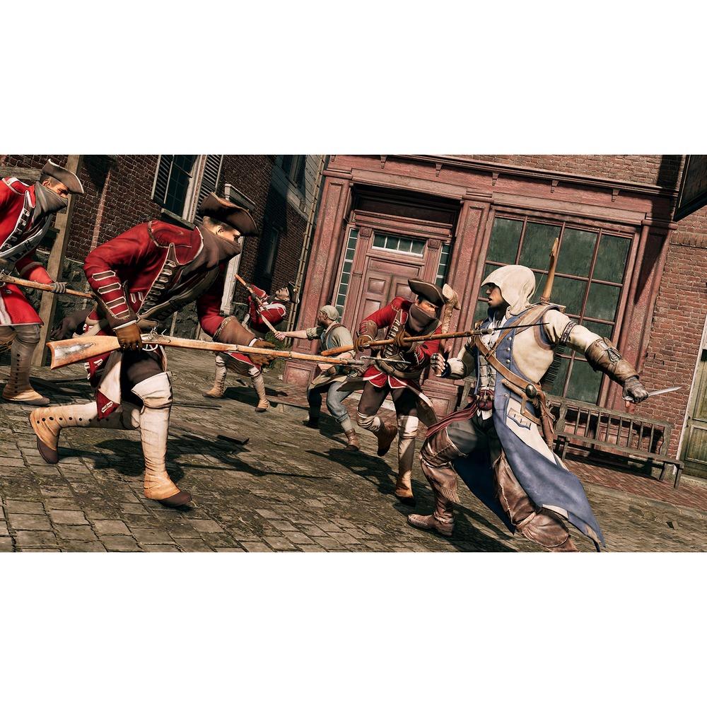 Assassins Creed III Обновленная версия PS4, русская версия в интерьере - фото 1