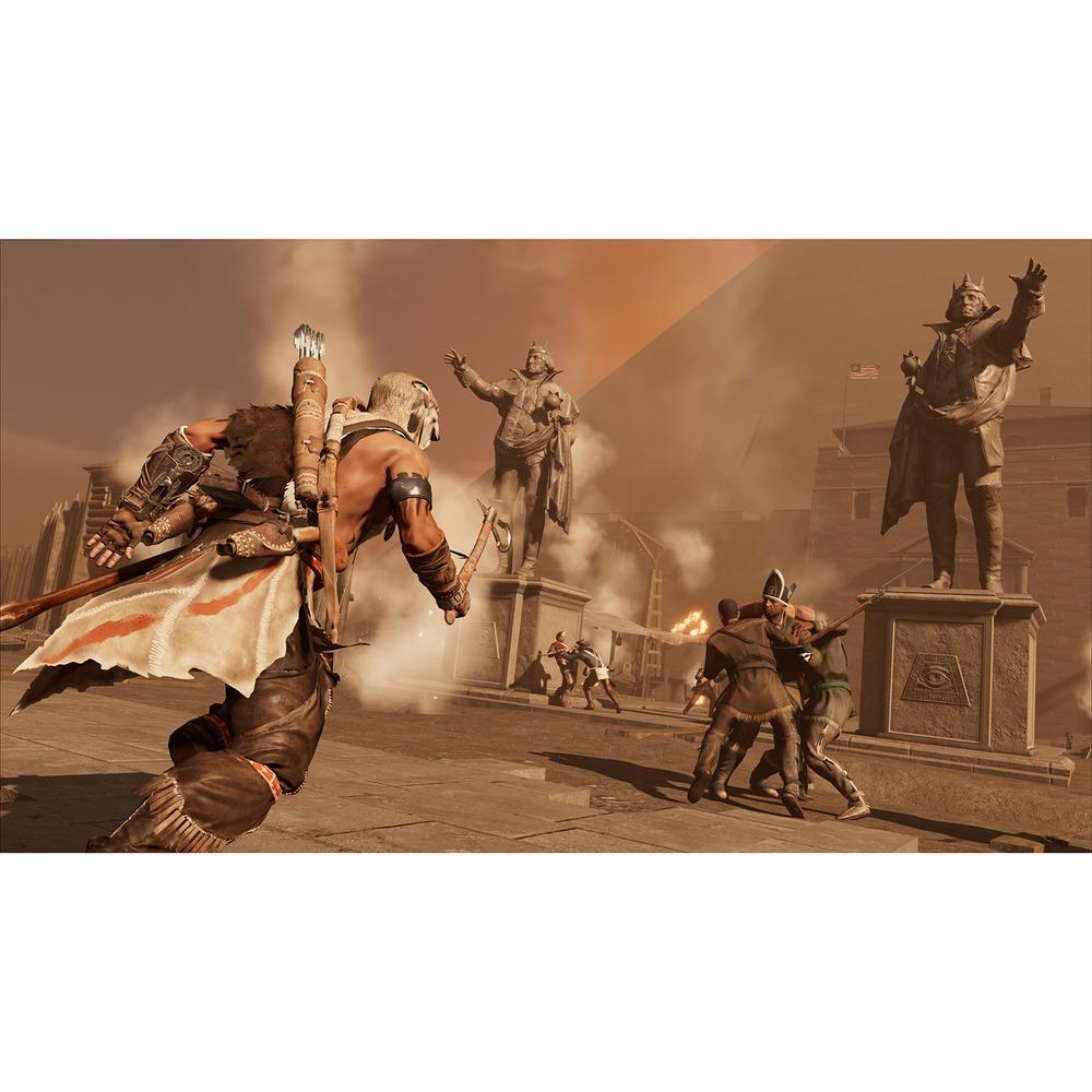 Assassins Creed III Обновленная версия PS4, русская версия в интерьере - фото 4