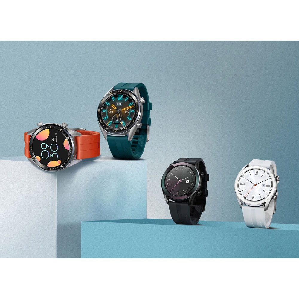 Смарт-часы Huawei Watch GT Active Green (FTN-B19) в интерьере - фото 2