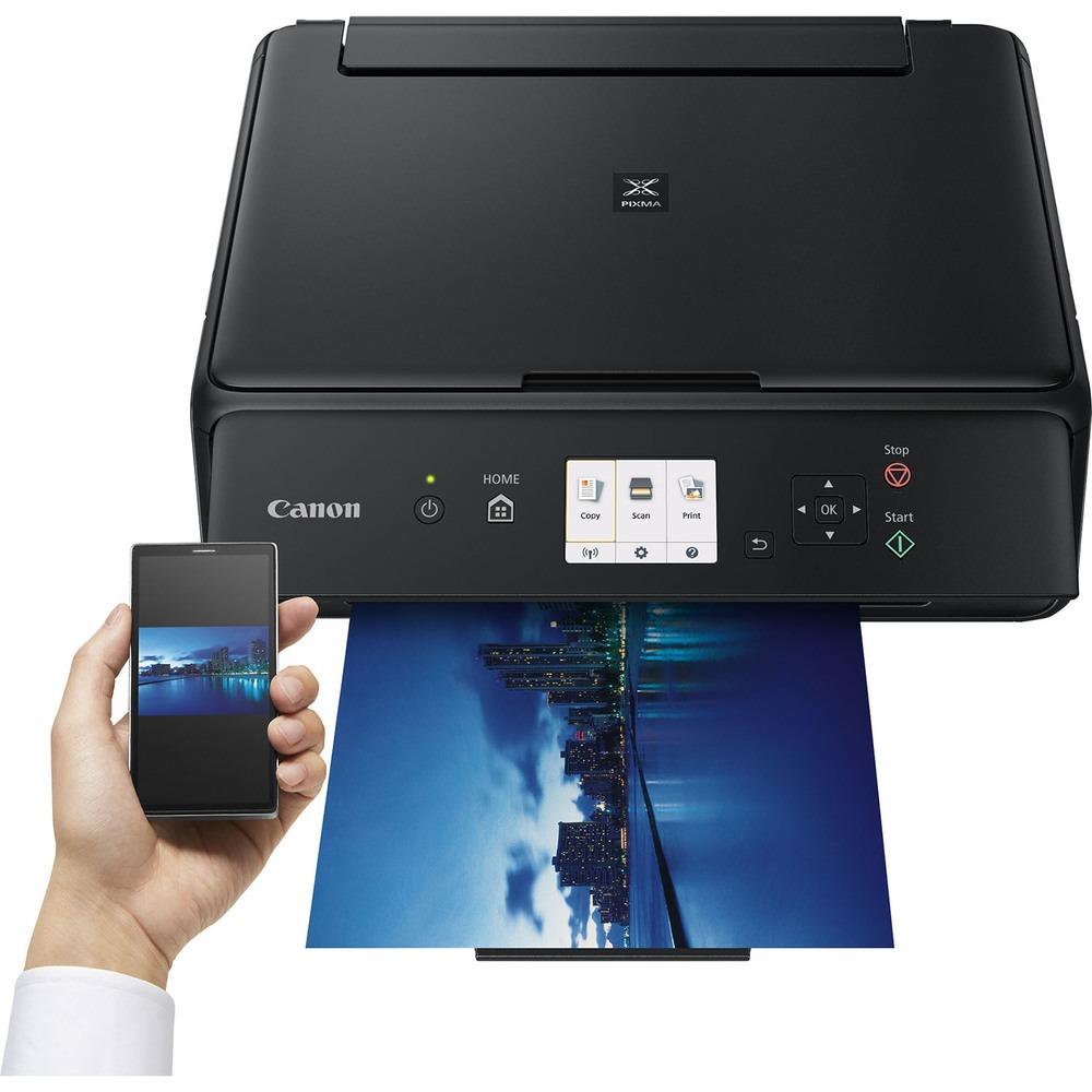 Принтер Canon Pixma TS5040 черный в интерьере - фото 4