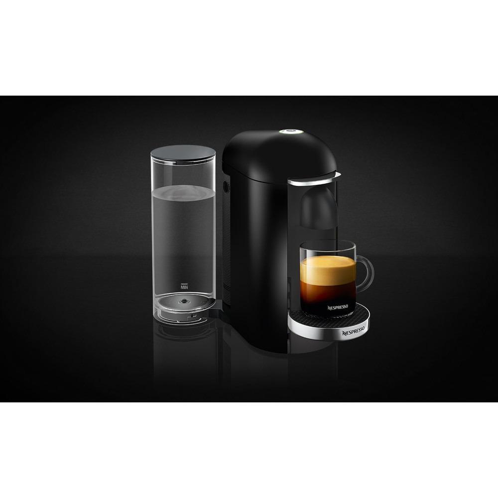 Капсульная кофемашина Nespresso Vertuo Plus C GCB2 EU Silver в интерьере - фото 2