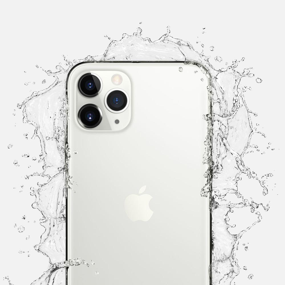 Смартфон Apple iPhone 11 Pro Max 256GB серебристый в интерьере - фото 1