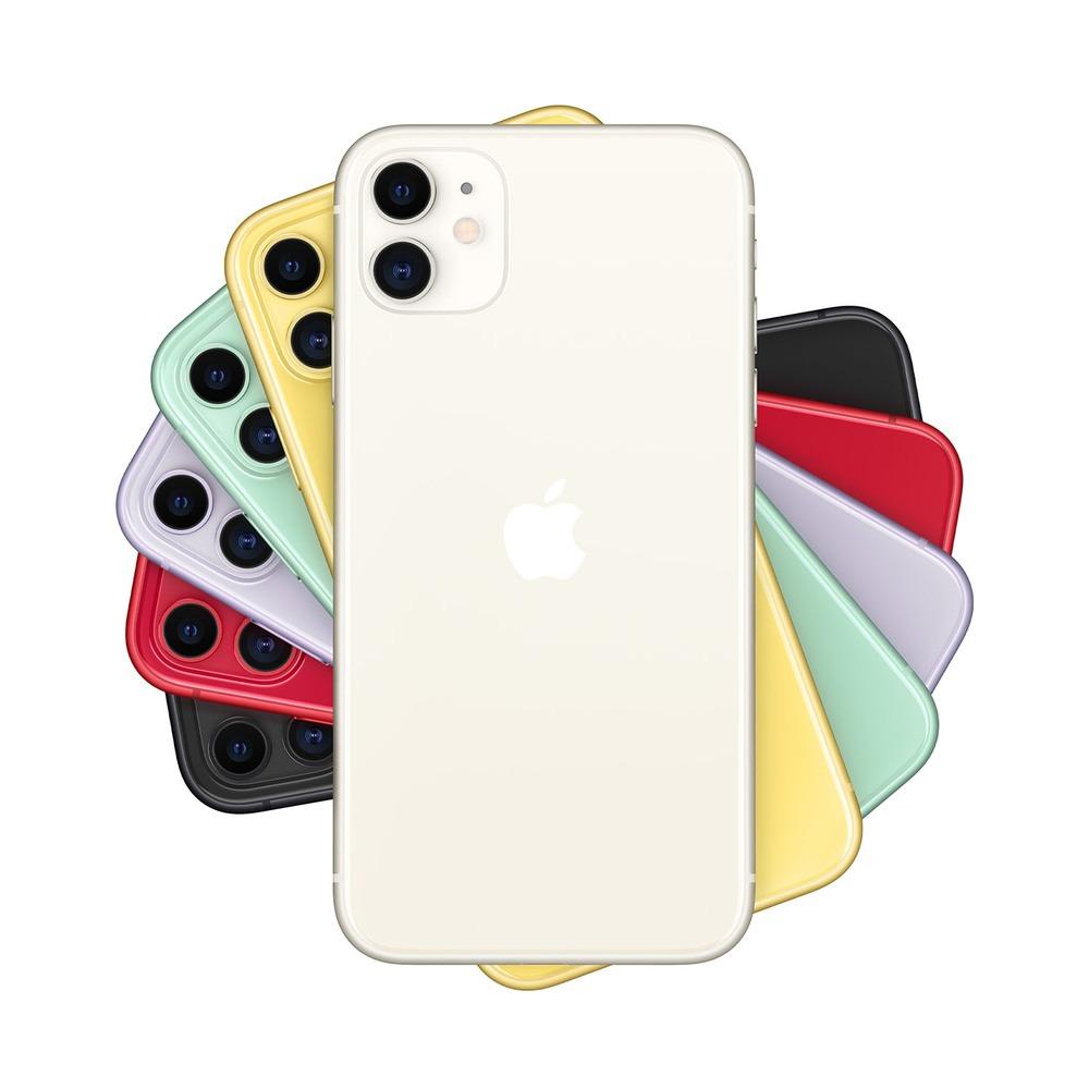 Смартфон Apple iPhone 11 64GB белый в интерьере - фото 1