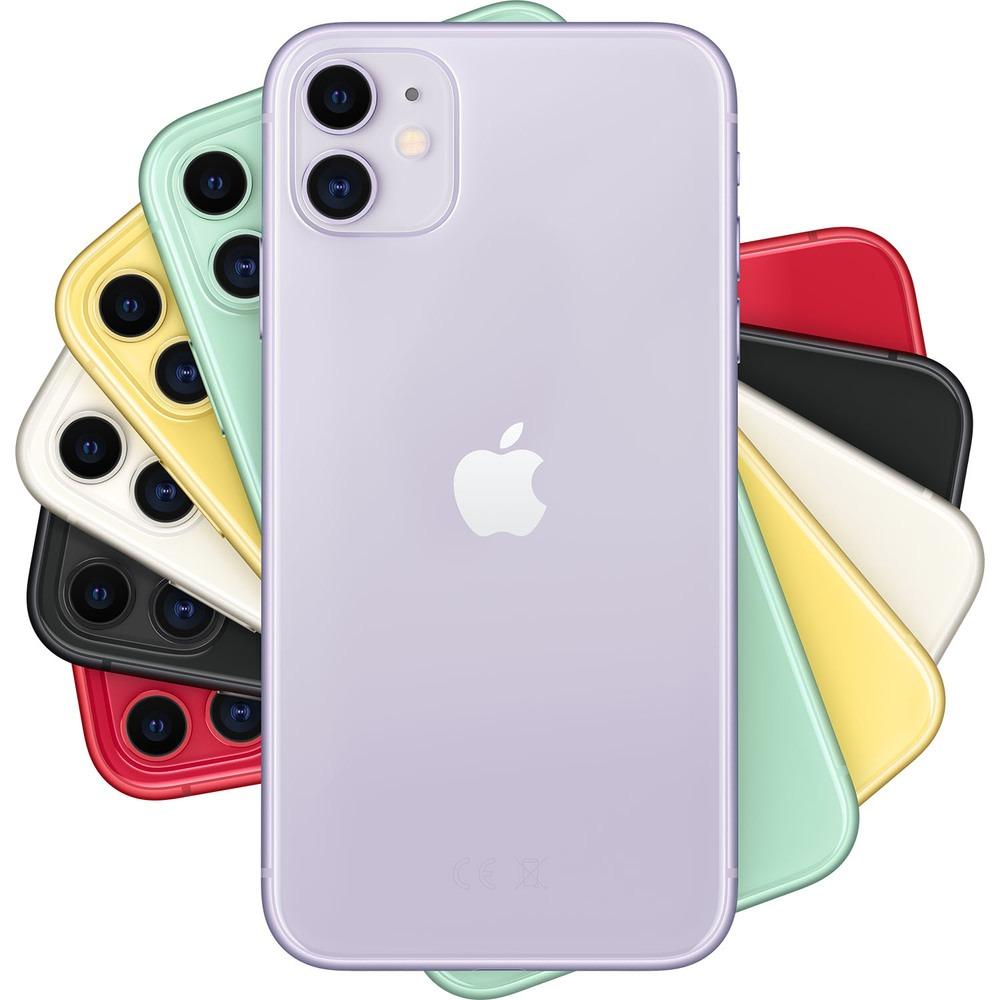 Смартфон Apple iPhone 11 64GB фиолетовый в интерьере - фото 1