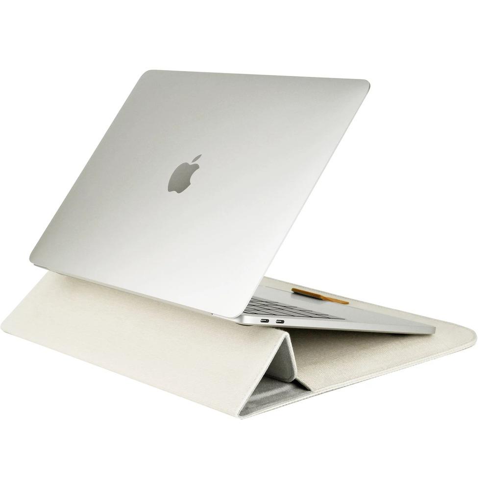 Сумка Cozistyle Canvas Stand Sleeve Creamy White (CPSS13022) в интерьере - фото 2