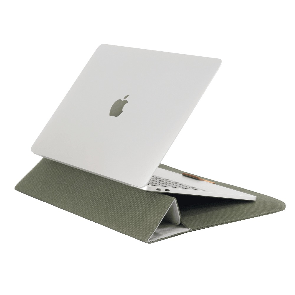 Сумка Cozistyle Canvas Stand Sleeve Ivy Green (CPSS13023) в интерьере - фото 1