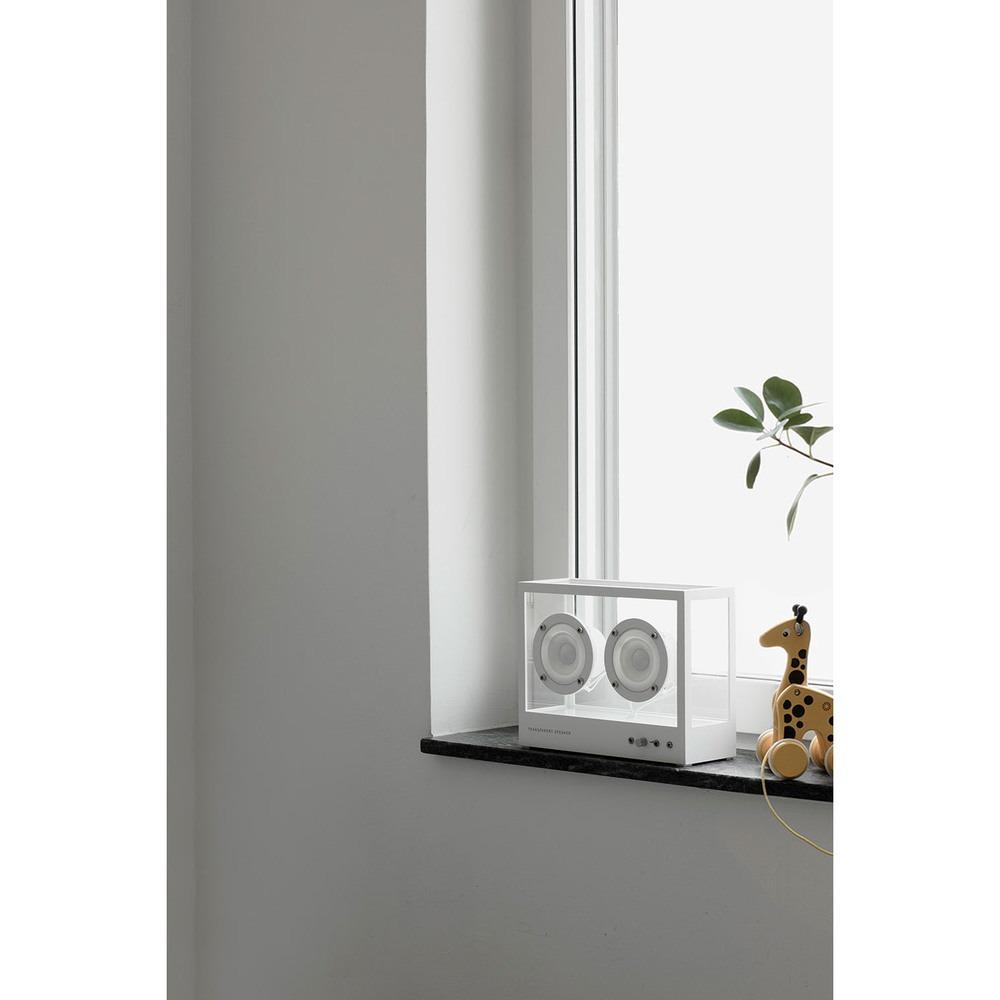Портативная акустика Transparent Sound Small Speaker в интерьере - фото 12