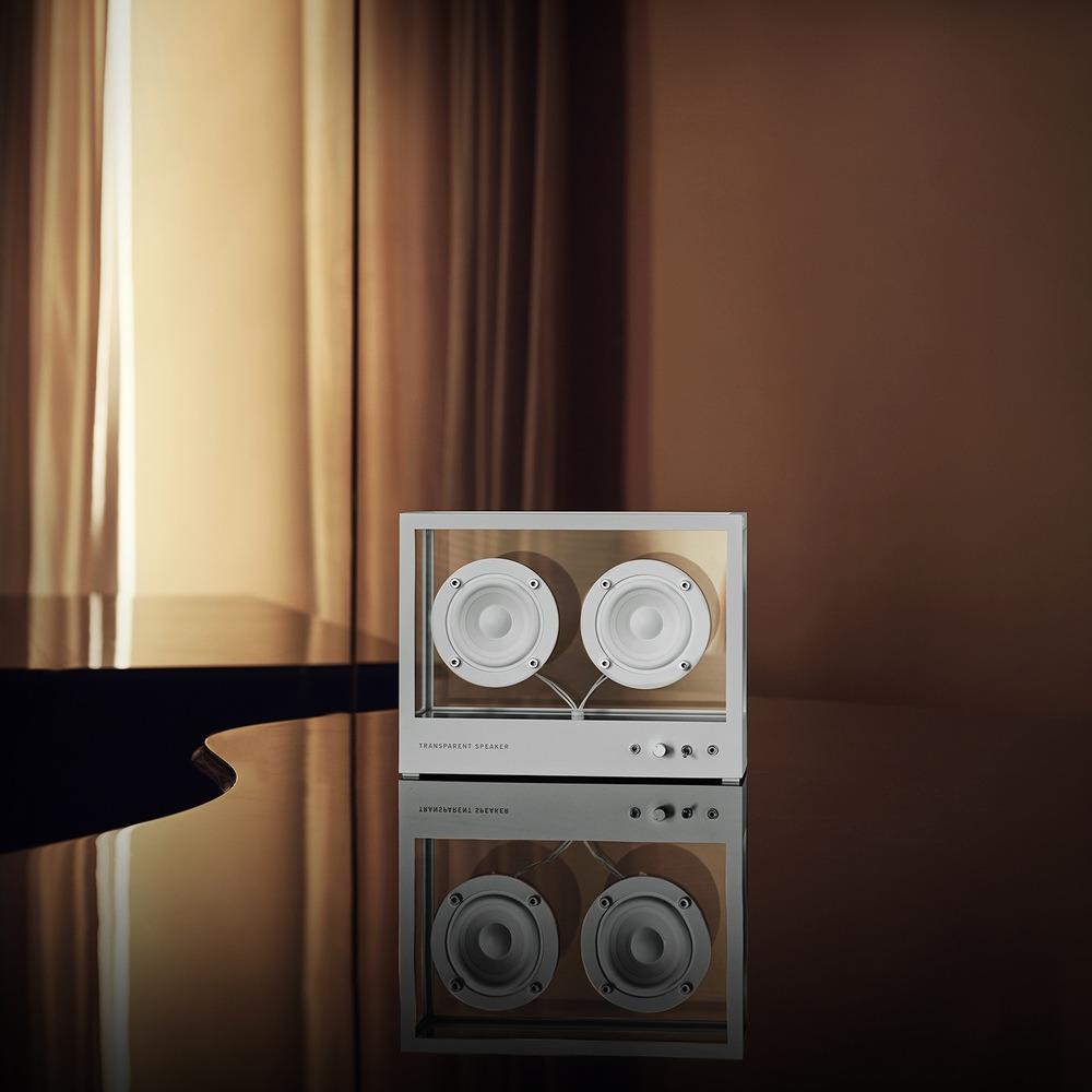 Портативная акустика Transparent Sound Small Speaker в интерьере - фото 2