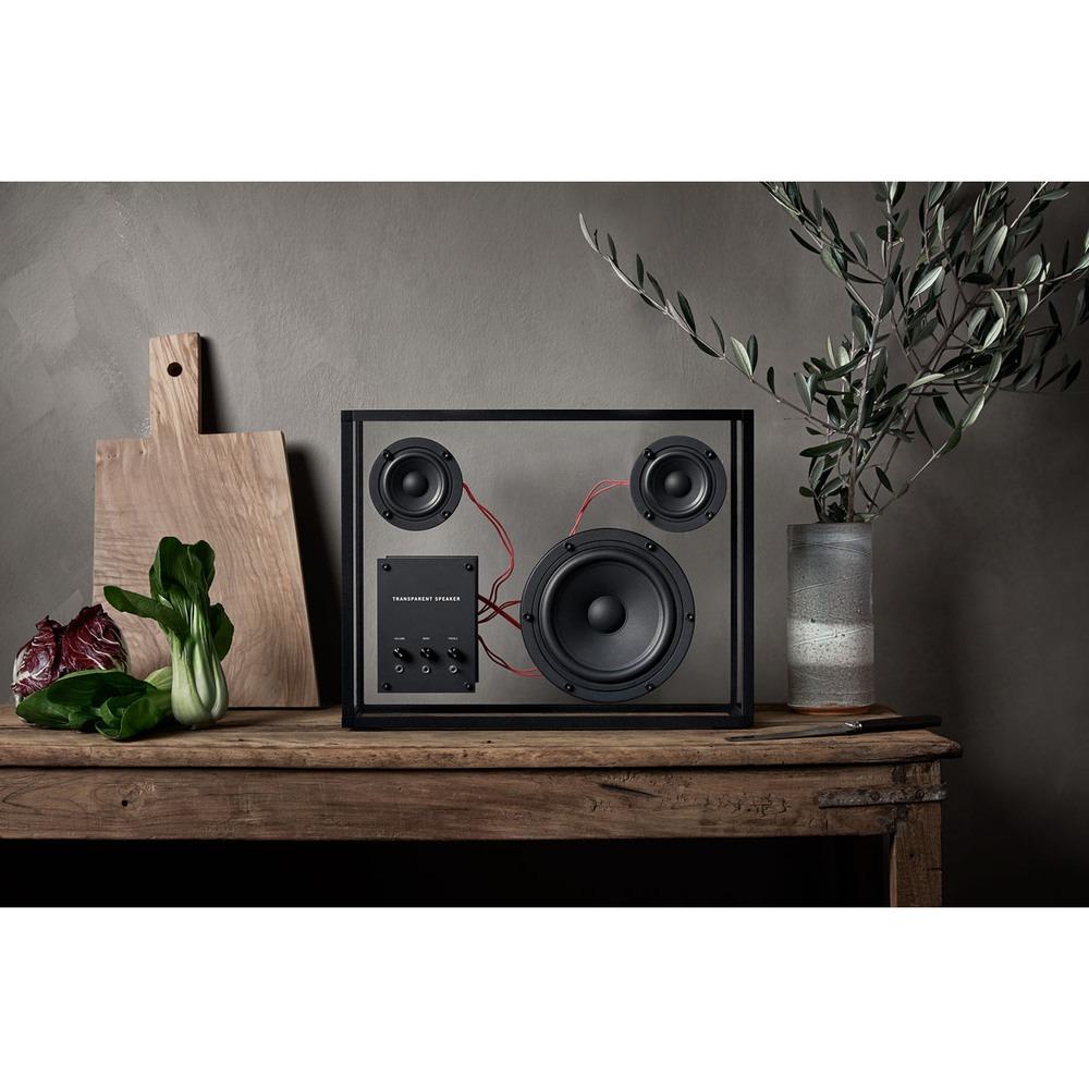 Портативная акустика Transparent Sound Speaker в интерьере - фото 4