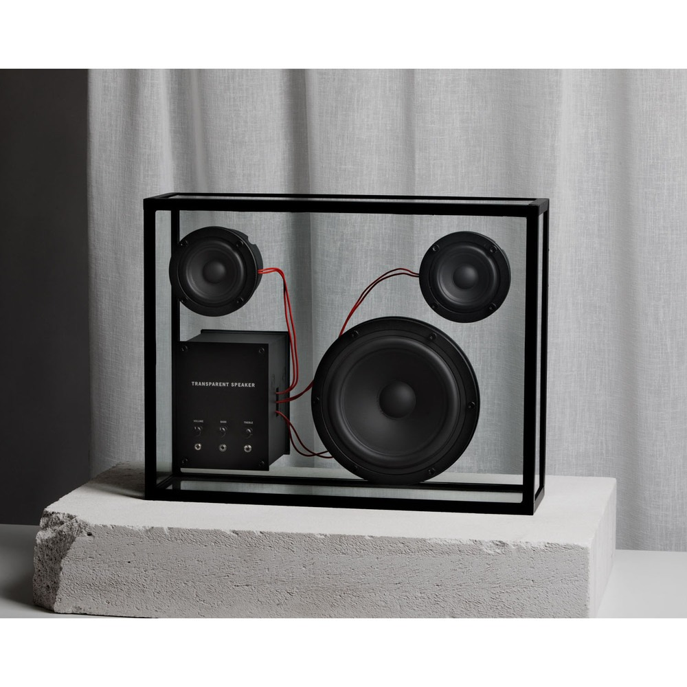 Портативная акустика Transparent Sound Speaker в интерьере - фото 7