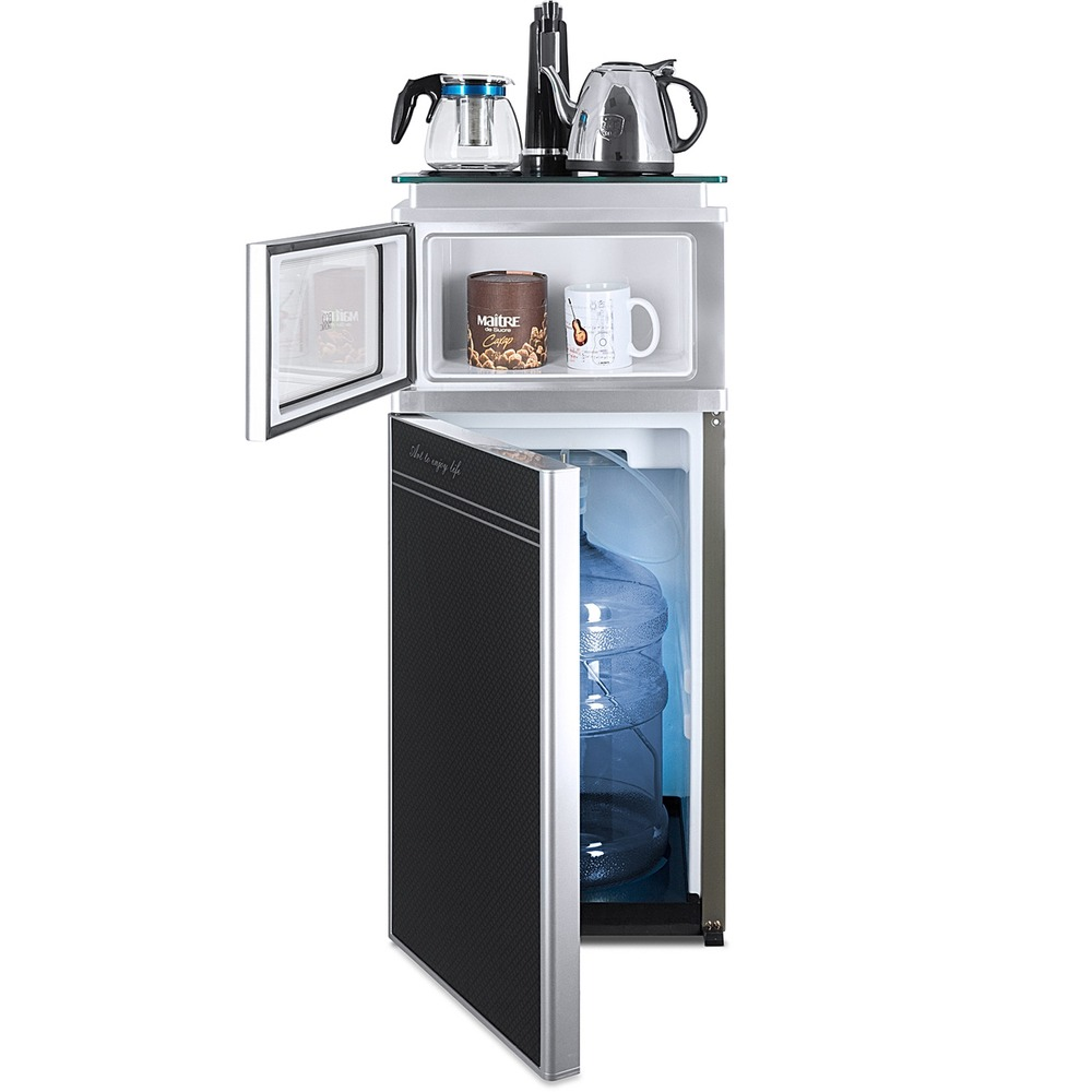 Кулер для воды Ecotronic TB3-LE UV (11276) черный/серебристый в интерьере - фото 2