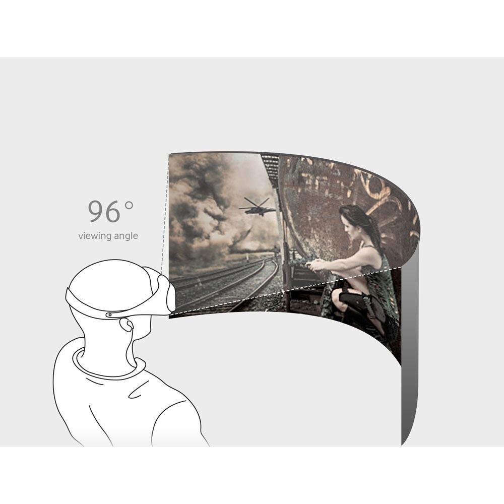 Очки виртуальной реальности Samsung Gear VR SM-R322 black-white в интерьере - фото 5