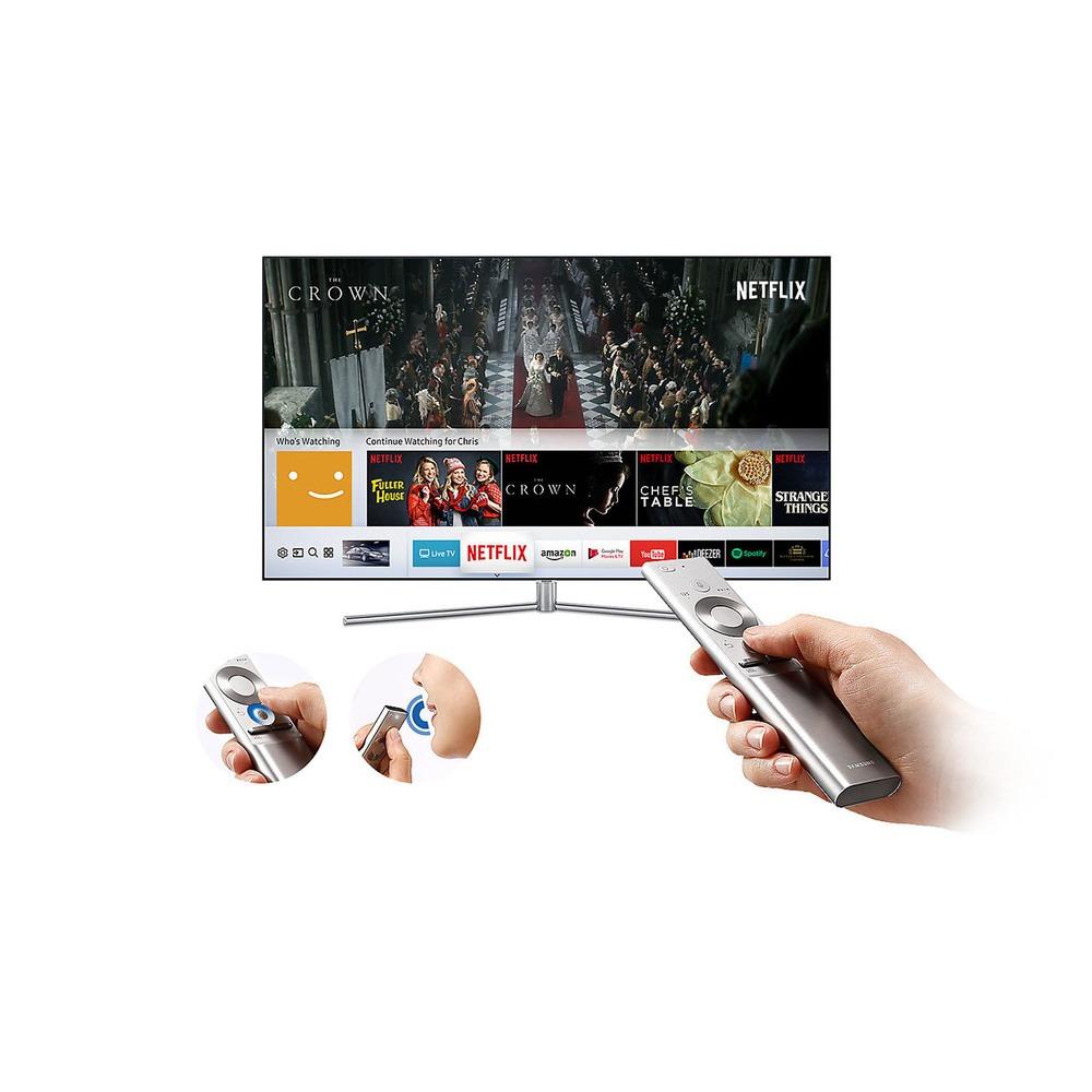 Телевизор Samsung QE75Q7F в интерьере - фото 5