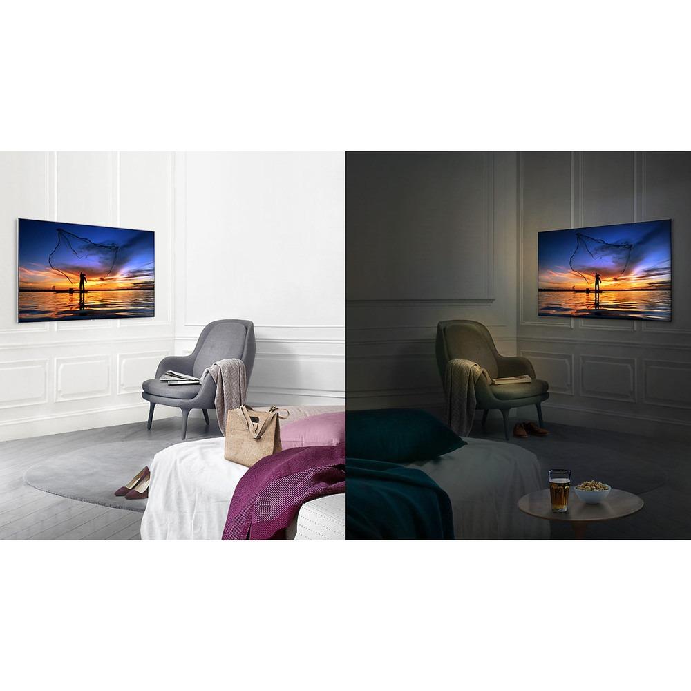Телевизор Samsung QE75Q7F в интерьере - фото 6