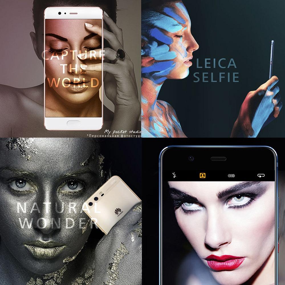 Смартфон Huawei P10 premium 64 Gb черный в интерьере - фото 1